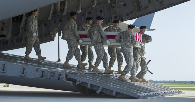 Body of US general arrives at Dover Air Force Base