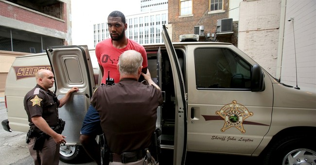 Former top pick Oden released after battery arrest