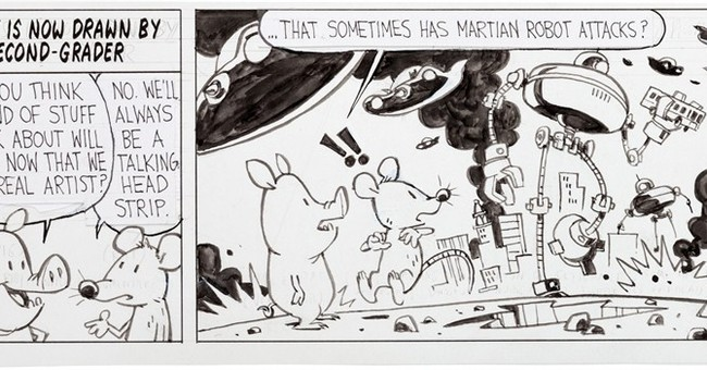 Art from Watterson's comics return auctioned