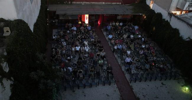 AP PHOTOS: Outdoor cinemas fade to black in Greece
