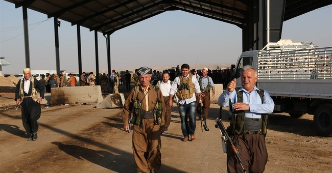 Bolstered by US, Kurds defiant to extremist threat