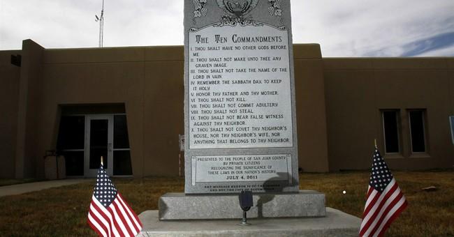 Judge rules Ten Commandments monument must go