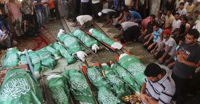 In Gaza, dispute over civilian vs combatant deaths