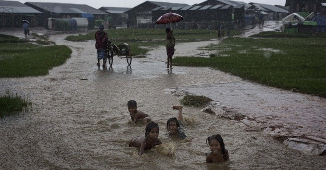Rohingya children in Myanmar camps going hungry