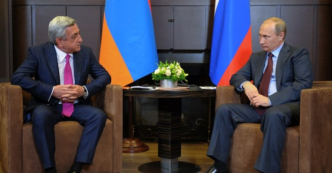 Putin meets leaders over Nagorno-Karabakh
