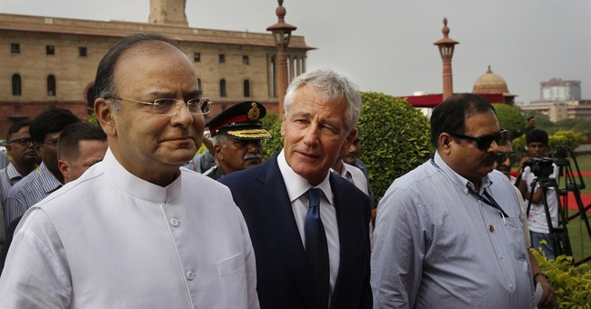 Hagel: US, India must improve defense cooperation