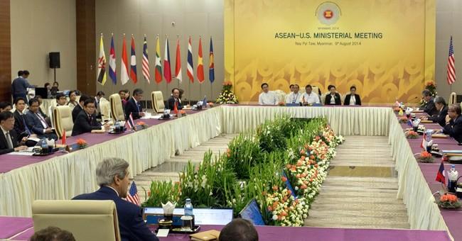 Kerry seeks to calm South China Sea tensions