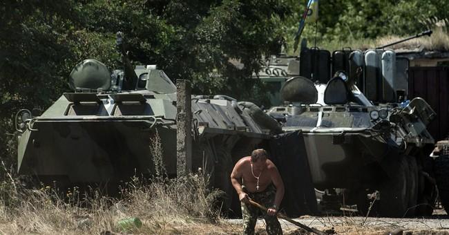 Ukraine rebel leader asks for aid,  cease-fire