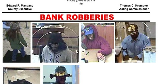 Wanted: Repeat bank robber with fondness for hats