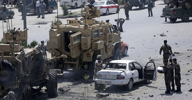 4 Afghan civilians killed in Kabul suicide bombing