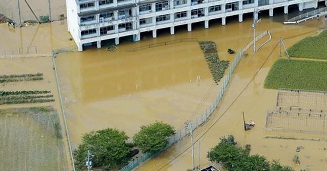 Storm drenches Japan; 1 dead, dozens hurt