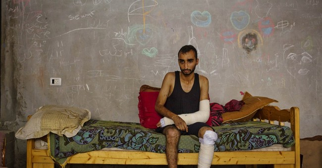 Gaza's wounded: Living reminder of ravages of war