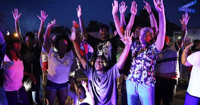 Missouri crowd after shooting: 'Kill the police'