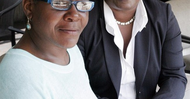 APNewsBreak: LA woman punched by patrolman speaks