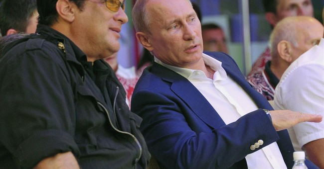 Report: US actor Steven Seagal performs in Crimea