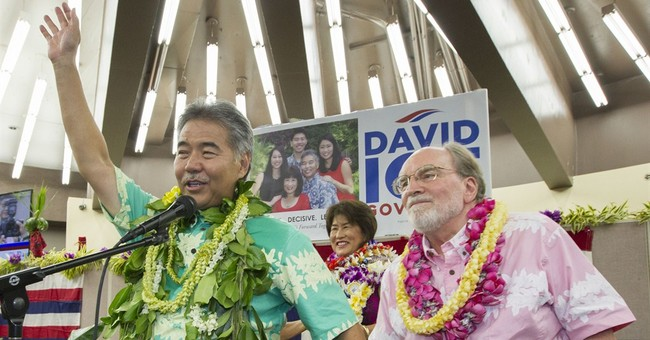 Hawaii's governor ousted in stunning primary loss