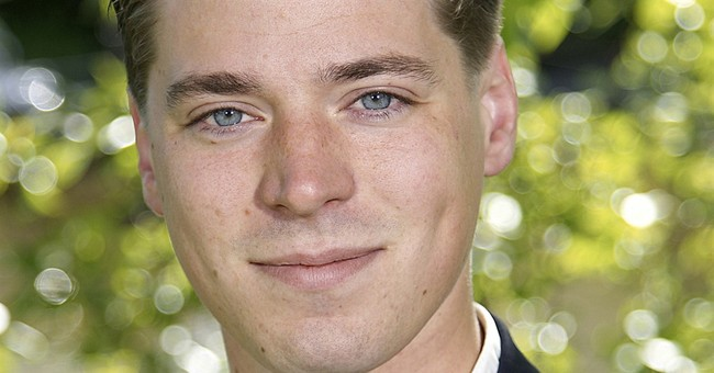 Swedish politician says he's Mitterrand's son