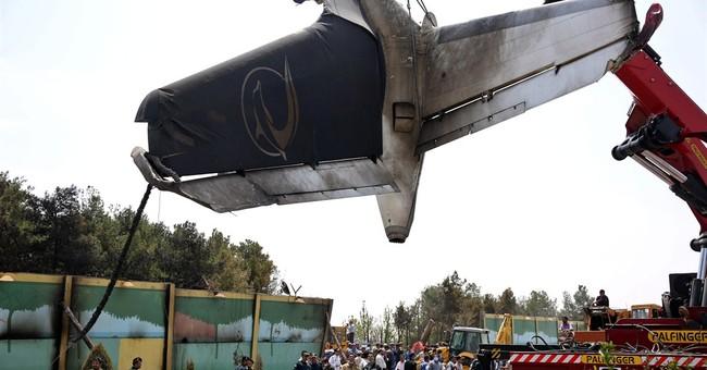 Survivor: Engine out before Iranian airplane crash