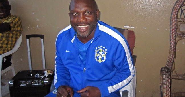 Liberian ex-soccer star Weah records Ebola song