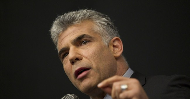 Lapid: Gaza aid should be tied to restored PA rule