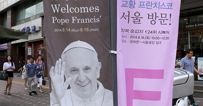 Pope kicks off Asia missionary boost in SKorea