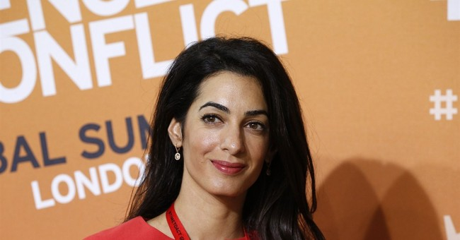 Clooney's fiancee Alamuddin rejects Gaza probe job