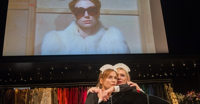 Review: In 'The Maids,' off-kilter women at war