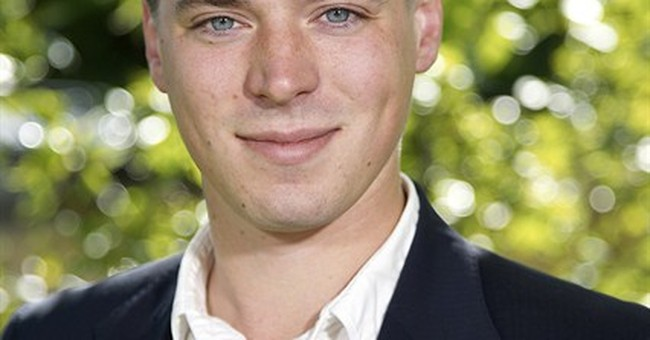 Swedish politician says he's Mitterrand's son