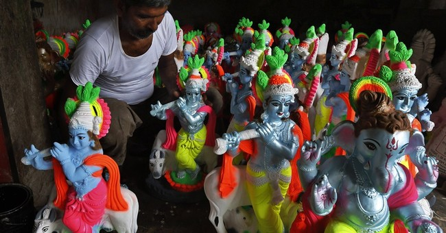 Image of Asia: Getting ready for Hindu festivals