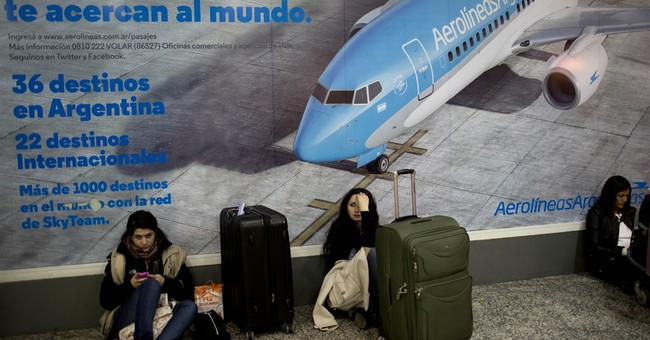 Pilots strike in Argentina, stranding thousands