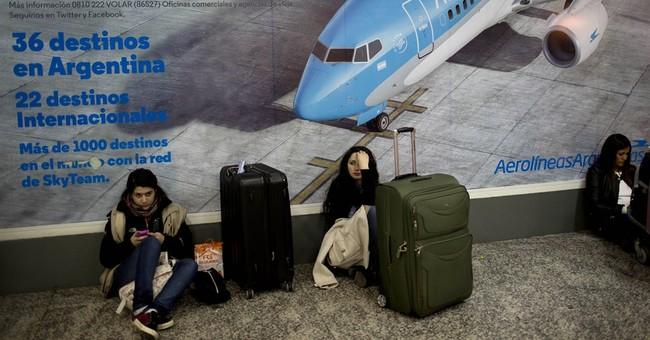 Pilots strike in Argentina, stranding thousands