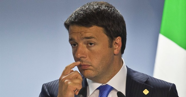 Italy's troubles weigh on eurozone