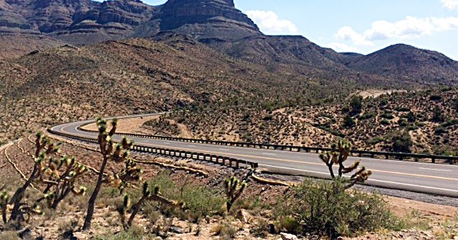 New road makes trip to Grand Canyon Skywalk faster