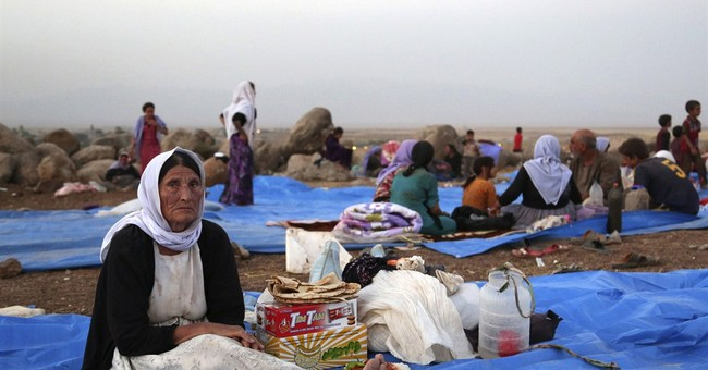 Syrian Kurdish fighters rescue stranded Yazidis