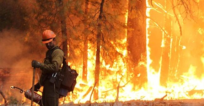California man pleads not guilty to 2013 wildfire