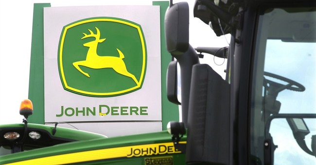 Deere takes a hit as farm economy weakens