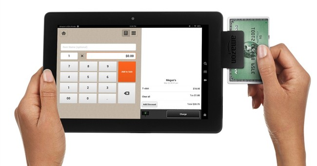 Amazon debuts mobile payment app and card reader