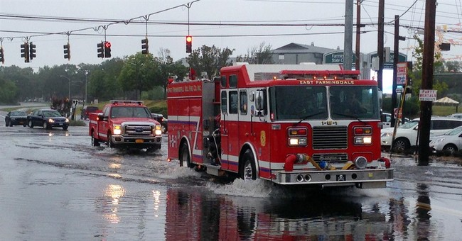 New York suburbs get entire summer's worth of rain