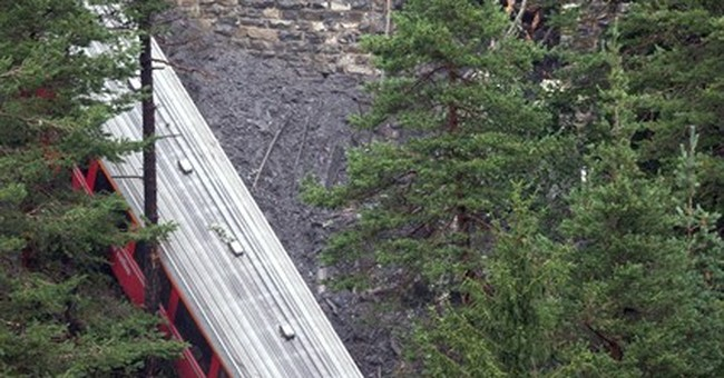 11 injured as train cars derail in Swiss Alps
