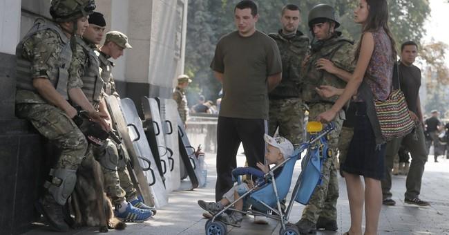 Ordinary Ukrainians become unlikely warriors