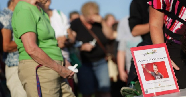 Loved ones say goodbye to boy killed at playground