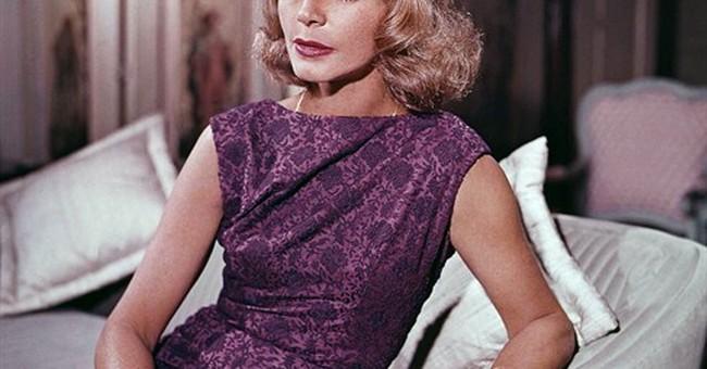 Lauren Bacall, a screen goddess of the shadows
