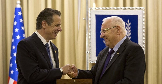 NY governor offers 'total solidarity' for Israel