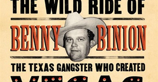 Author tells story of wild ride of Benny Binion