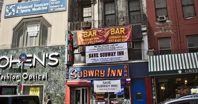 Subway Inn, old-time NYC dive bar, facing eviction