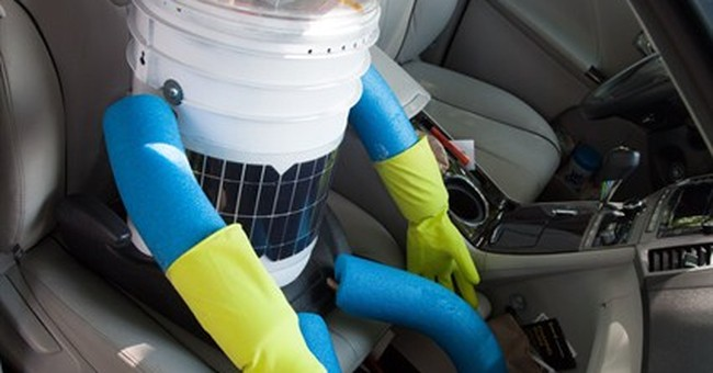Hitchhiking robot travels across Canada
