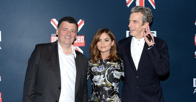 Capaldi gets New York welcome at 'Who' premiere
