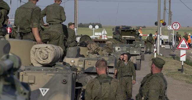 Russia denies its vehicles destroyed in Ukraine