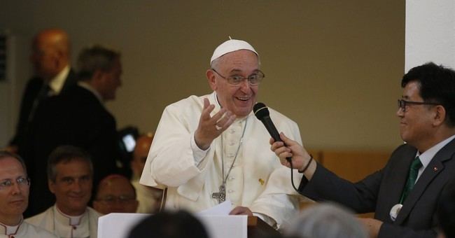 Pope runs late, asks to skip prayers _ or else!