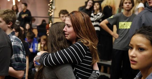 APNewsBreak: Teen gunman deemed not a high threat